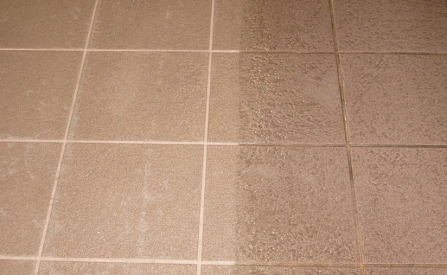 AntiSlip Tile And Grout Deep Cleaning In Lake Zurich IL - Cleaning non slip tiles