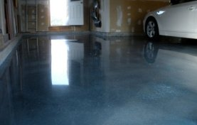 Garage Floor Repaired