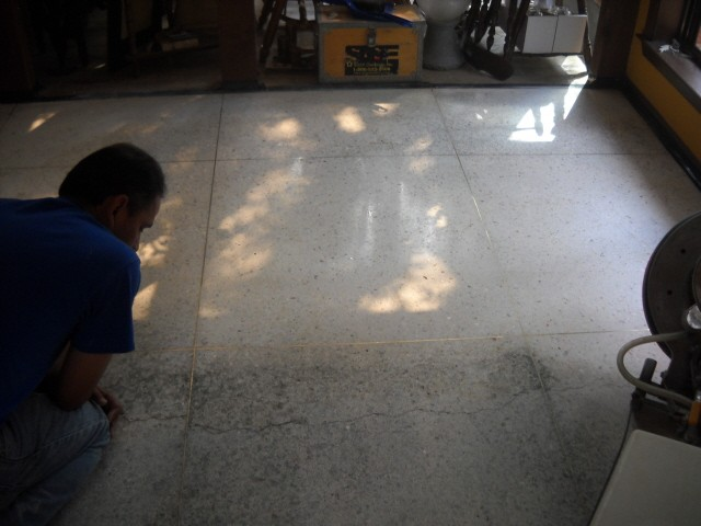 Terrazzo Restoration and Polishing 1
