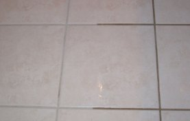 Tile Floor Looks New Again