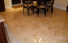 Travertine Repaired