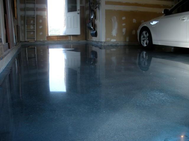 Garage Floor Repaired