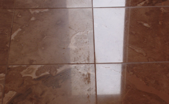 Grout Repair and Marble Polishing 1