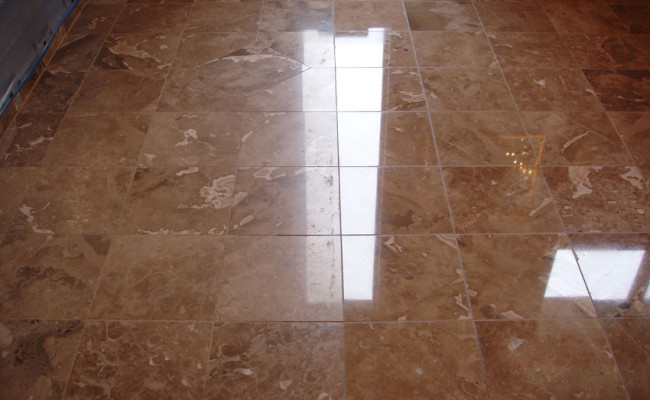 Grout Repair and Marble Polishing 2