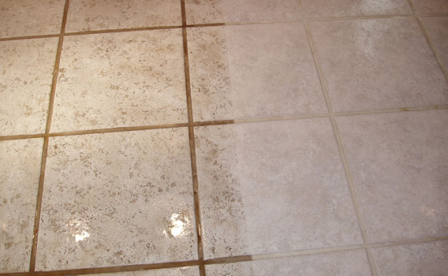 Kitchen Tile and Grout Cleaning 2
