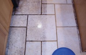 Cleaning Limestone Floor