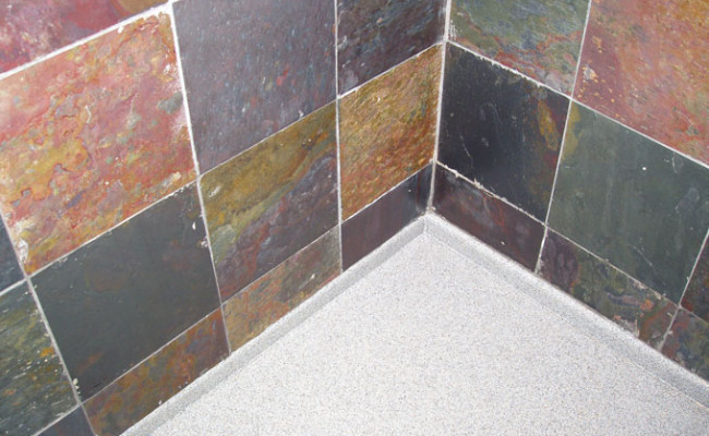 Slate Shower Cleaning and Sealing 2
