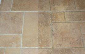 Tile Floor Cleaned