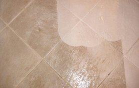 Kitchen Floor Looks New Again