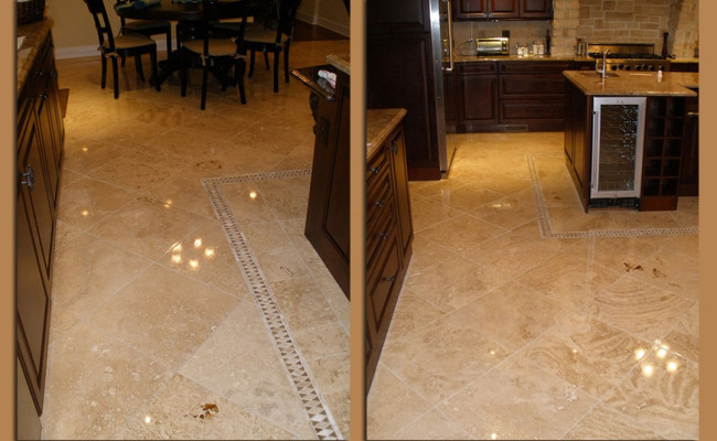 Travertine Repair and Polishing 4