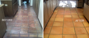 mexican tile before and after