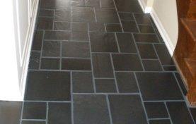 Slate Floor Restored