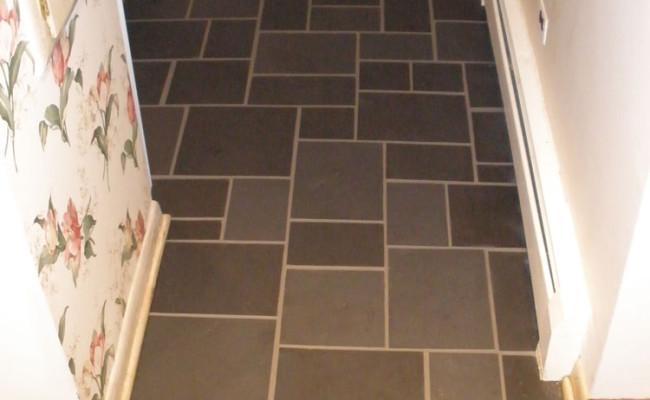 slate 3 after grout clean